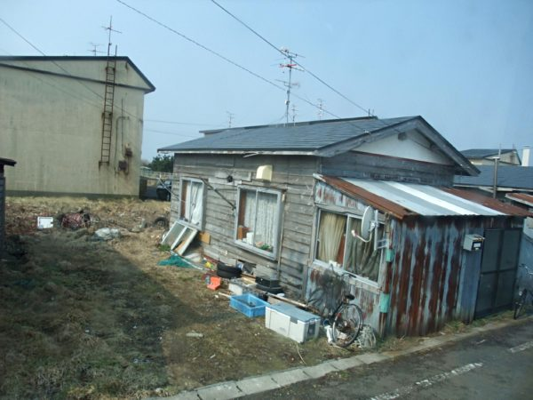 山本秀勝さんが住んでいた町営住宅