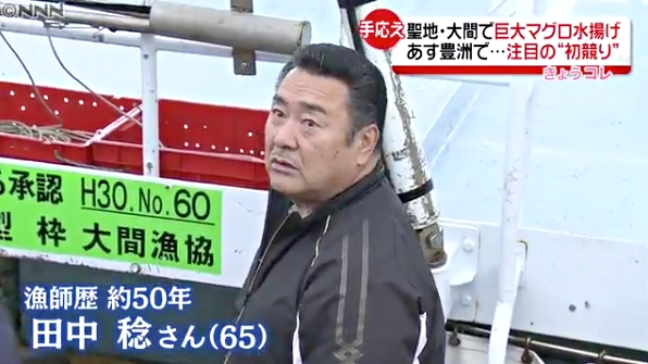 田中稔さん