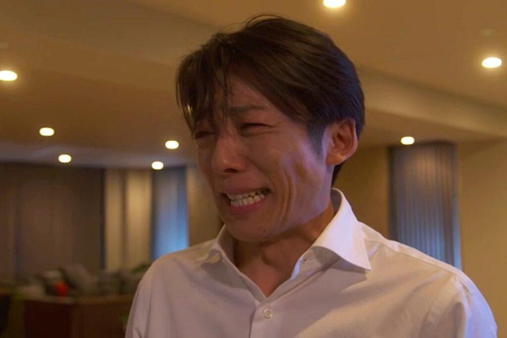 泣きじゃくる高橋一生(イセ子)