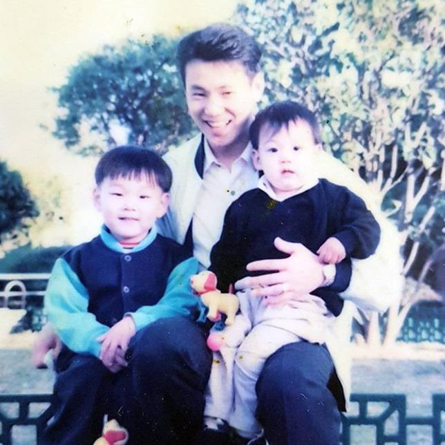 ジョングクの家族写真