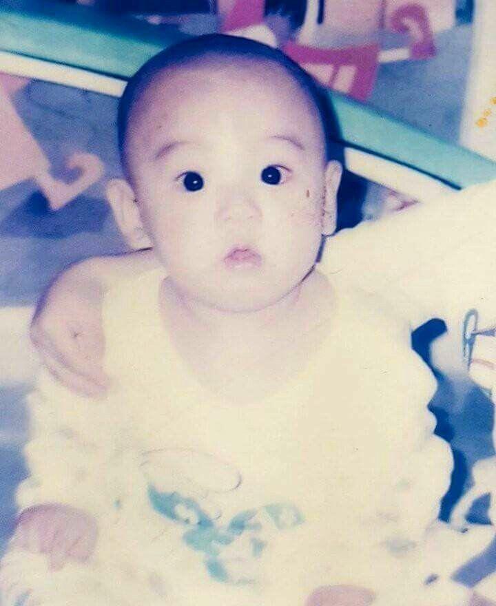 赤ちゃんの頃のジョングク