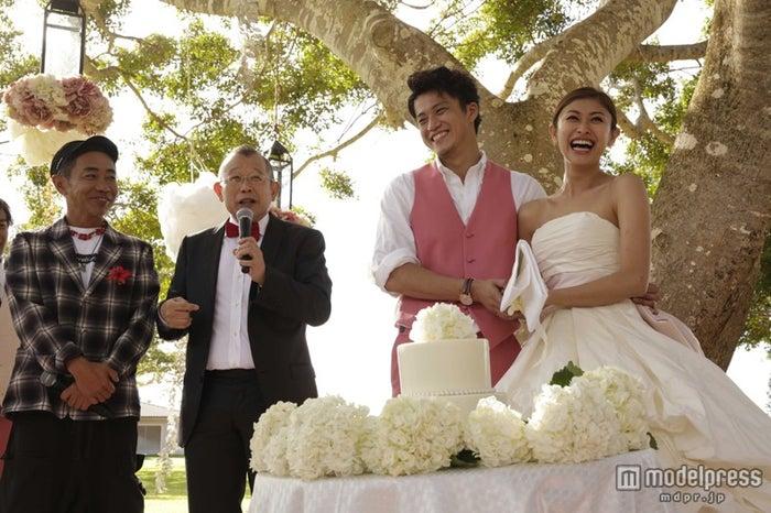 小栗旬と山田優の結婚式